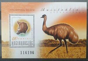 Hungary 2000 - Fauna of Australia - Block - MNH
