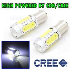 * 2 X 1156 11W COB CREE LED Bombillas De Xenón inversa sideligt Freno DRL P21W sin error