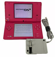 NINTENDO DSi Red Console & Charger- Tested & Cleaned- See Description