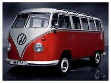 VW Camper Van, Retro metal Sign/Plaque Wall vintage / Gift