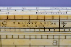 Antique J. Rabone & Sons 1 Foot /12 Inches Folding Rule
