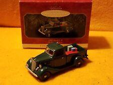 Hallmark Keepsake 1937 Ford V-8 Collectors Series Xmass Ornament
