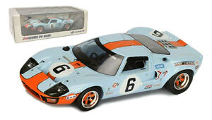 Spark 43LM69 Ford GT40 #6 Winner Le Mans 1969 - Ickx/Oliver 1/43 Scale