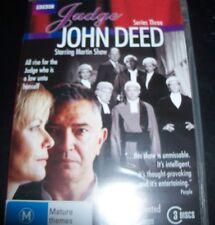 Judge John Deed (Martin Shaw) Series Three 3 (Australia Region 4) BBC DVD - NEW