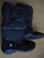 ecco Kinder Stiefel Mädchen schwarz 37 Winterquee GORETEX