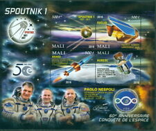 2018 60th anniversary conquest of space Sputnik #6 euclid aureol astronaut