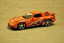 Motormax's Mazda RX7 Street Racer - NIB - 1:24 - ORANGE