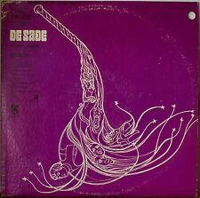 DE SADE ORIGINAL MOVIE SOUNDTRACK-NM1969LP KEIR DULLEA/SENTA BERGER/LILLI PALMER