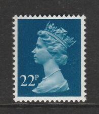 GB 1980 Machin Definitive 22p blue SG X962 MNH (PP)