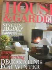house and garden magazine january 2010 - House And Garden Magzine