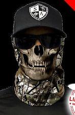 Salt Armour Snow Forest Camo Skull Face Shield Sun Mask Balaclava Neck Gaiter