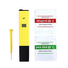 Digital PH Wert Wasser Messgerät Messer Tester Meter Aquarium Pool Prüfer 0-14