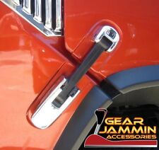 2003 - 2009 Hummer H2 Chrome Hood Latch Covers SUV/SUT triple chrome plated