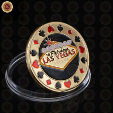 WR Poker Card Guard Fashion Style Las Vegas Token Coin Protects the Cards