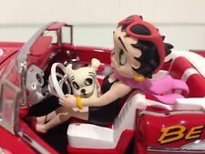 Betty Boop Classic 57 Chevy Hot Rod Red