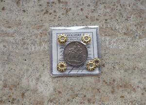 VITTORIO EMANUELE III 5 LIRE 1936 PERIZIATA DA CAVALIERE BB-SPL/QSPL