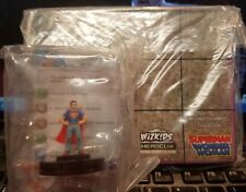 DC HeroClix Superman Wonder Woman Release Day OP Figure and Map - SEALED