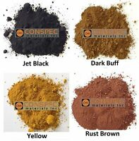 12 LB MIXED LOT BLACK BUFF BROWN YELLOW Concrete Color Pigment Dye Cement Mortar