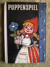 Puppenspiel - Puppen und Erziehung im Kindergarten - DDR Buch 1967 Puppentheater