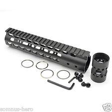 5.56/223 Keymod Handguard 9'' Free Float Aluminum Handguard Picatinny
