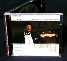 LARNELLE HARRIS LIVE with the Brooklyn Tabernacle Choir 1990 CD RARE