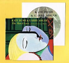 KATE BUSH-LARRY ADLER The Man i Love UK CD 3 Track Nice clean copy Free UK Post