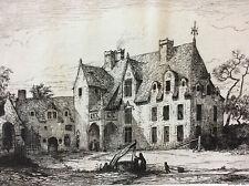 Château de la Rongère Château-Gontier Mayenne 1872 A Tancrède Pays de Loire