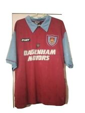 West Ham United Centenary Shirt 1995-97 Home M