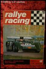 Rallye Racing 12/71 Renault Alpine Lotus Elan Sp + Poster