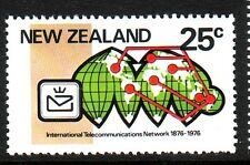 New Zealand Sc# 597 Mint NH Set Telecommunications