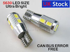 T10 501 W5W CanBus NEW GENERATION interior WHITE LED 10-SMD 5630 bulb fit AUDI I