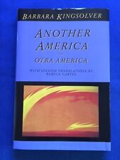 ANOTHER AMERICA - FIRST EDITION COMPLIMENTARY COPY SIGNED BY BARBARA KINGSOLVER