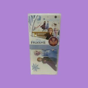 RoomMates Frozen 2 Peel & Stick 21 Wall Decal Girls Room ELSA ANNA OLAF Stickers