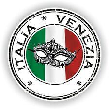 Seal Sticker of Italy Italia Venezia Stamp Bumper Roundel Truck Laptop Car #02