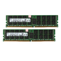 32GB 2x 16GB 2Rx4 PC4-2133P 17000 DDR4 2133Mhz REG ECC Server Memory RAM CL15 SS