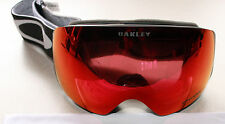 OAKLEY FLIGHT DECK XM ER GUNFIGHTER FRAME W/ TORCH IRIDIUM PRIZM LENS GOGGLES