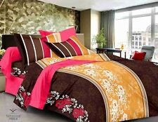 Valtellina Pure Cotton 1 King Size Bedsheet with 2 pillow Covers -TR_LV-03