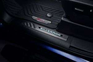 2020 Chevy Silverado Illuminated Door Sill Plates GM OEM 84359682