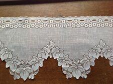 brise bise cantonnière rideaux à décor vendu au mètre B26