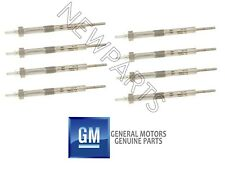 For GMC Savana 2500 4500 Sierra 2500 HD Classic 6.6 V8 Set of 8 Glow Plugs OES