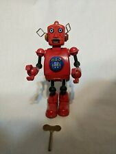 Planet Robot Wind-up Tin Toy TR2022 Schylling