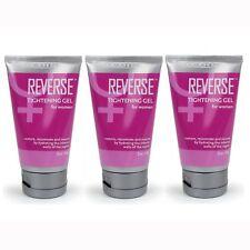 3 Doc Johnson Reverse Tightening Gel for Women Female Shrink Cream Body Enhancer