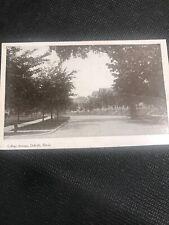 Postcard, College Avenue, DeKalb, Vintage Chicago Illinois  L02