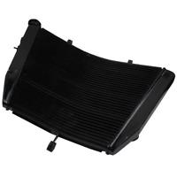 Black Radiator Cooler Cooling Fit For Suzuki GSXR 600 750 GSX-R 600 750 06-10 10