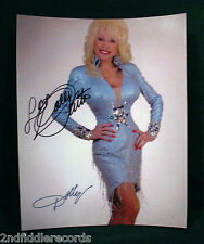 DOLLY PARTON-Autographed 8 x 10 Photograph-Country Music Legend & Star-COA