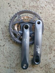 Shimano Deore LX FC-M571 Chainset Crankset Crank 44/32/22 rings 175mm arms