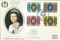 The Queens Silver Jubilee 1952 - 1977 Official First Day Cover London SW1 MC112