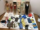 Vintage Barbie and Ken Dolls in box as lot w/Clothing Accessories 850 & 750