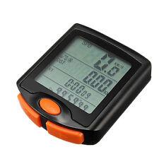 Hot Wired Bicycle Computer Cycle Bike LCD Speedometer Odometer Speed Waterproof