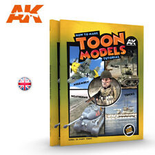 How to make TOON MODELS tutorial Book from AK Interactive
